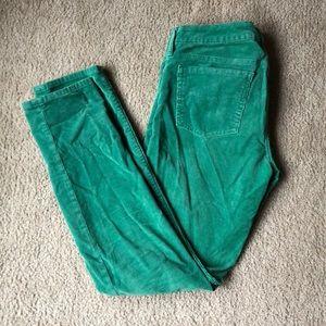 💚Gap 1969 Always Skinny Green Corduroys💚